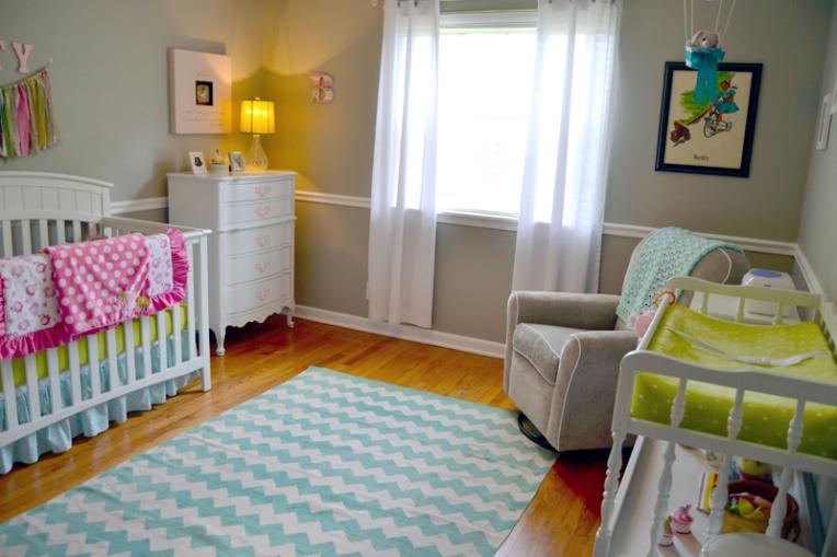 Baby Betty S Nursery Retro Girly Creative